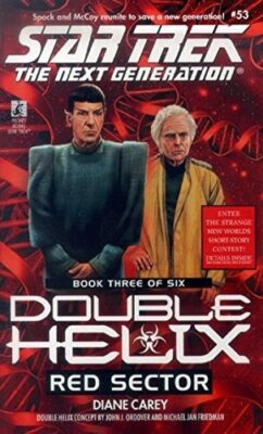 Cover: Red Sector by Diane Carey