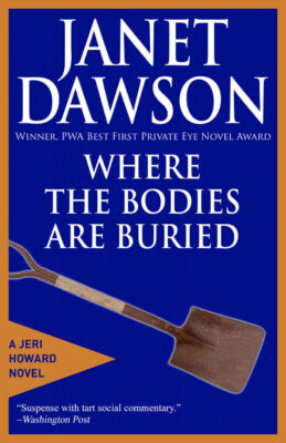 Cover: Where the Bodies are Buried by Janet Dawson