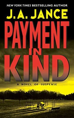 Cover: Payment in Kind by J.A. Jance