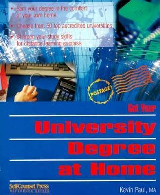 Cover: Get Your University Degree at Home by Kevin Paul