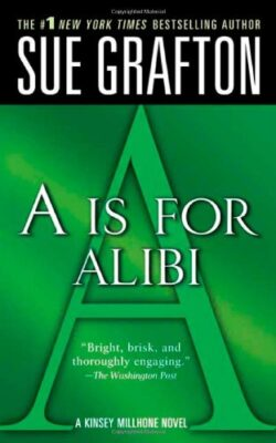 Cover: A is for Alibi by Sue Grafton