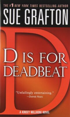 Cover: D is for Deadbeat by Sue Grafton