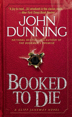 Cover: Booked to Die by John Dunning