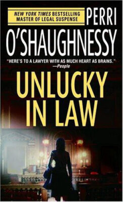 Cover: Unlucky in Law by Perri O'Shaugnessy