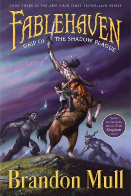 Cover: Grip of the Shadow Plague by Brandon Mull