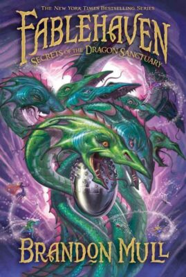 Cover: Secrets of the Dragon Sanctuary by Brandon Mull